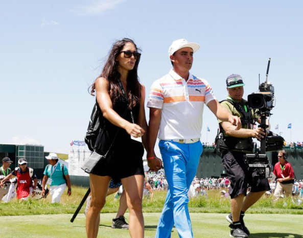 Rickie Fowler's Pole Vaulter Girlfriend Is Turning Heads At The US Open