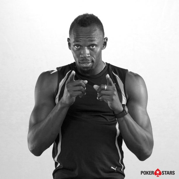 Usain Bolt World's Fastest Man Is Jumping Into Poker