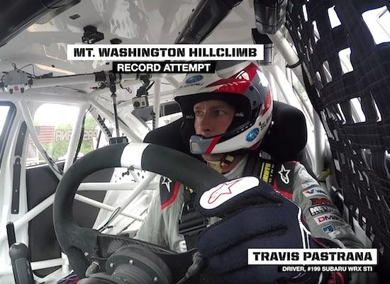 Travis Pastrana RECORD RUN POV – Mt. Washington Hillclimb