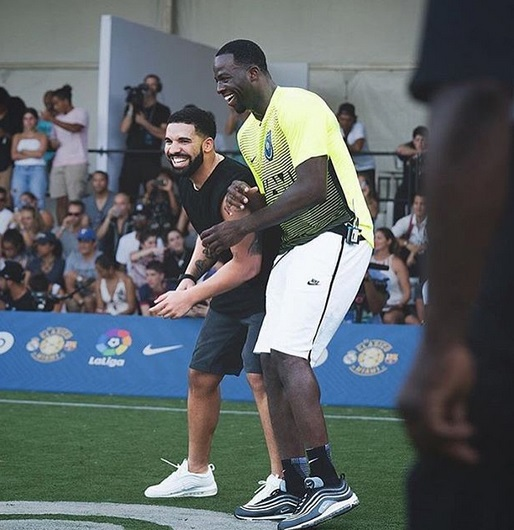 Drake and Draymond Green Play with Each Other