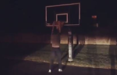John Calapari Got In On The Drive By Dunk Challenge