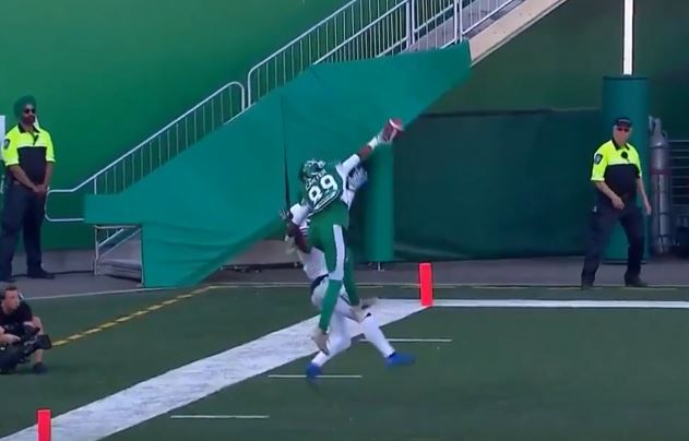 Duron Carter Made The Catch Of The Year In The CFL