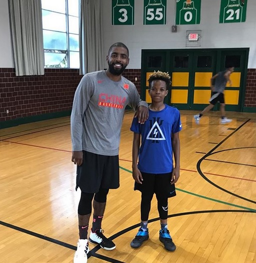 timeless design d8430 3283a Kyrie Irving Spotted Balling out In New Jersey ⋆ Terez ...