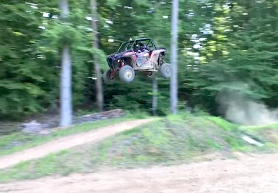 """Video- """"You went 80 feet on a 40-foot jump""""-Travis Pastrana"""