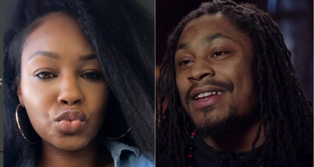 Marshawn Lynch is Beasting out with this Girl