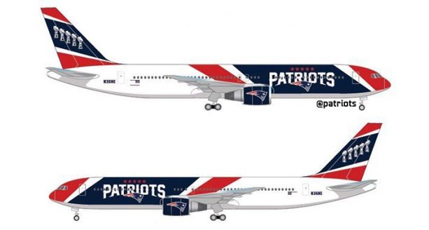 Patriots Are the First NFL Team to Have Their Own Plane