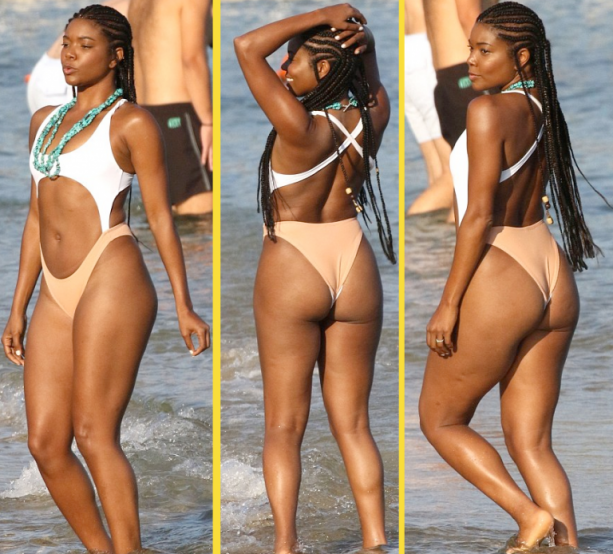 dwyane wade girlfriend butt
