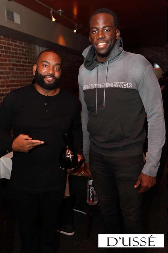 Draymond Green's D'USSE Celebration with NBA Players for Grind Week