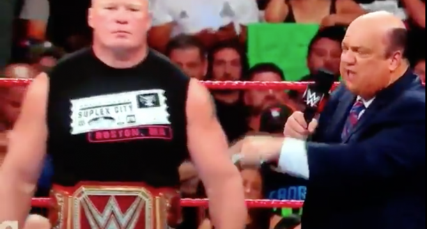 Brock Lesnar Hints He's Coming Back To The UFC