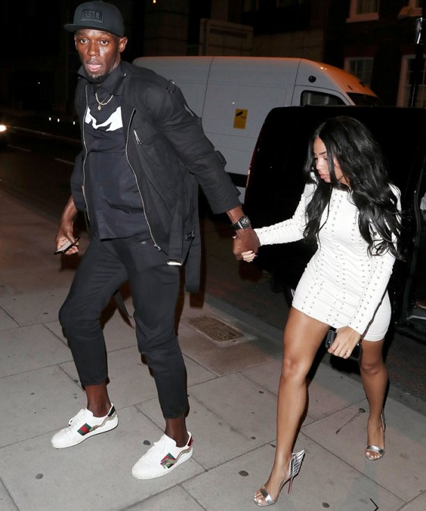 Usain Bolt Getting After It In London