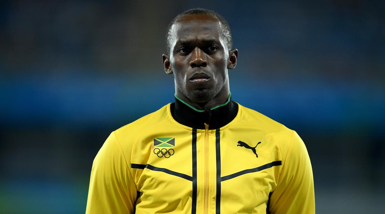 Usain Bolt Pulls His Hamstring In His Final Race