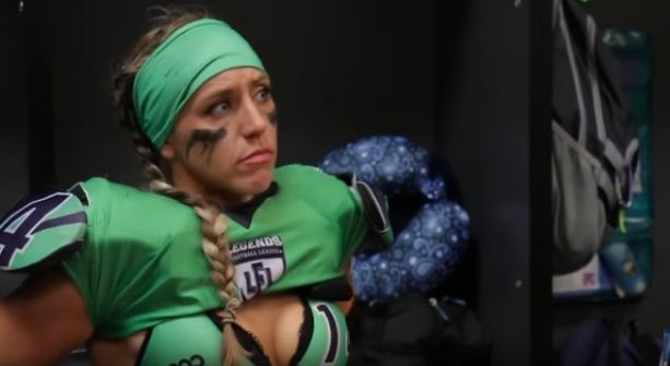 This Lingerie Football League Coach is a Real Dick