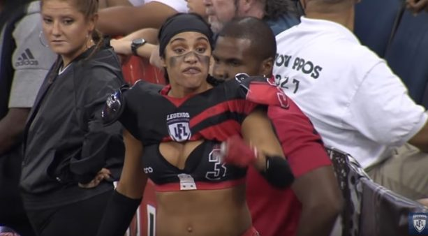 The Intensity of a Lingerie Football League Game is REAL