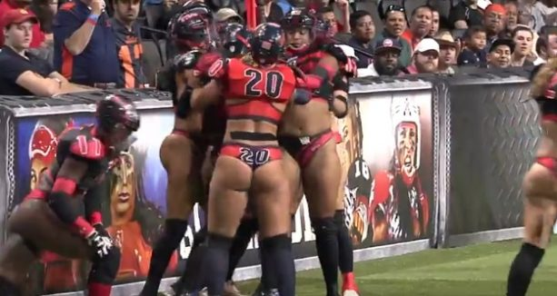 The Lingerie Football League presents 'The ULTIMATE NSFW Sports Clip'