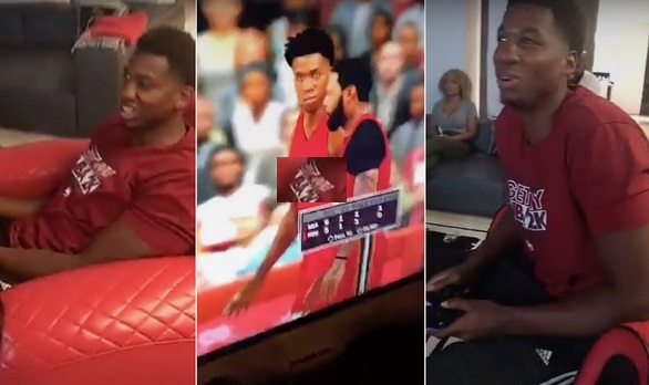 Hassan Whiteside Drops 40 with Himself in 2k; Let's the Ocean Know About It