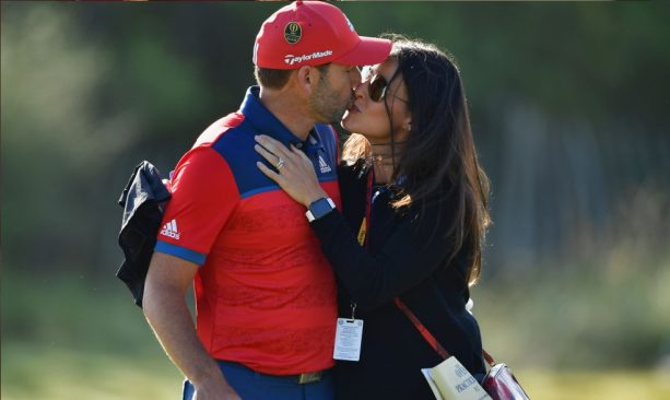 Sergio Garcia Worked in His Masters Jacket into His Wedding