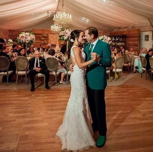Kenny G played Sergio Garcia's Wedding