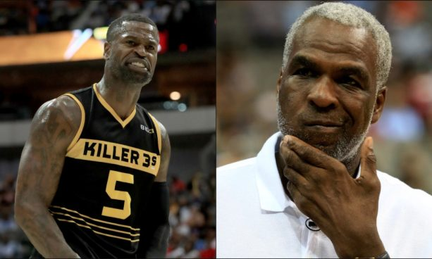 Stephen Jackson and Charles Oakley Go At It Over Benching