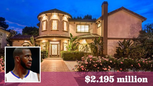 Chris Paul Selling His Los Angeles Area Home