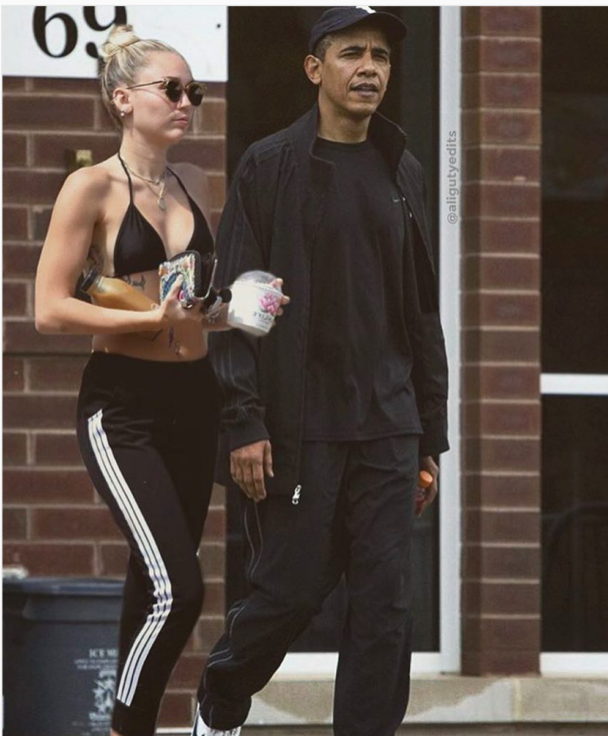 Miley Cyrus Fans Tricked Into Believing She's Banging Obama