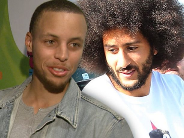 Stephen Curry's Thoughts on Kaepernick Being Left Off SI cover