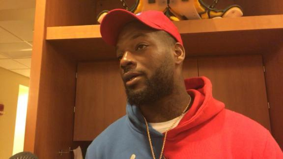 Martellus Bennett Breaks Down Crying Talking About When Talking About His Brothers Vegas Incident