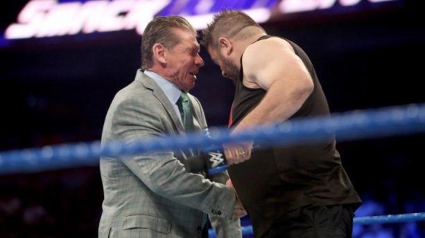 Vince McMahon Got His Ass Handed to him by Kevin Owens