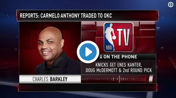 Charles Barkley Says Warriors Not Visiting White House 'Sets A Bad Precedent'