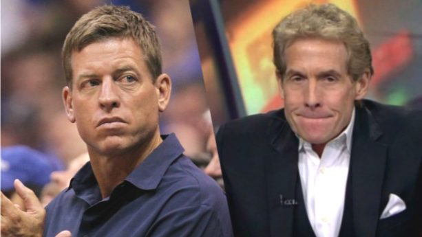 Troy Aikman Got Married and Skip Bayless Wasn't Invited