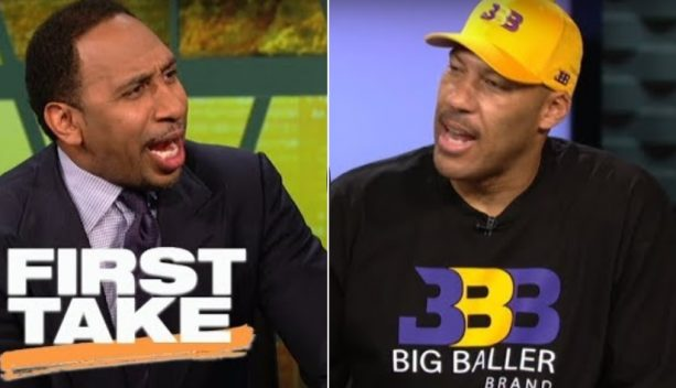 LaVar Ball Fires up Stephen A. with Outrageous Lakers Win Prediction with Lonzo