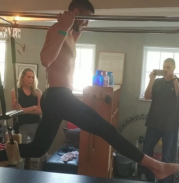 Pilates Instructor to Chandler Parsons:: You were A Natural Sex Slave!