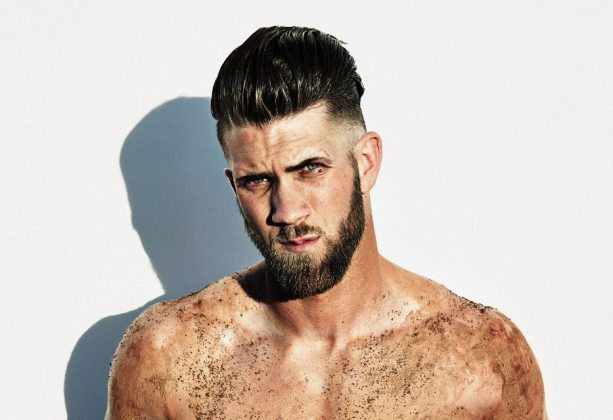 Bryce Harper's Dynamic Hair Continues to Amaze
