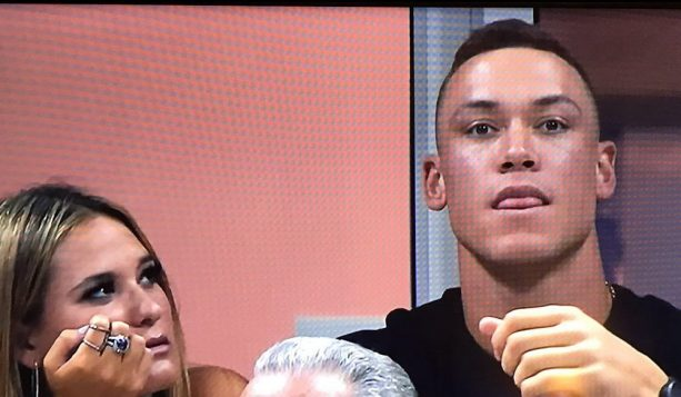 Aaron Judge Spotted at US Open with Michigan Hottie