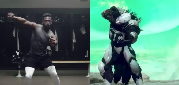 Antonio Brown Reveals 1st TD Dance of Season Inspired By Destiny 2