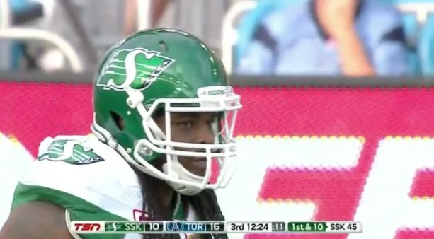 Trent Richardson Dominating The Canadian Football League
