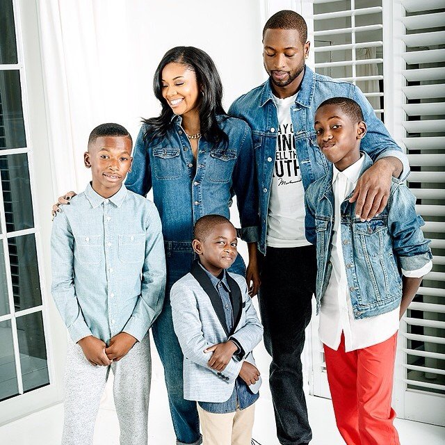 Gabrielle Union Giving Dwyane Wade's Sons Racist advice?