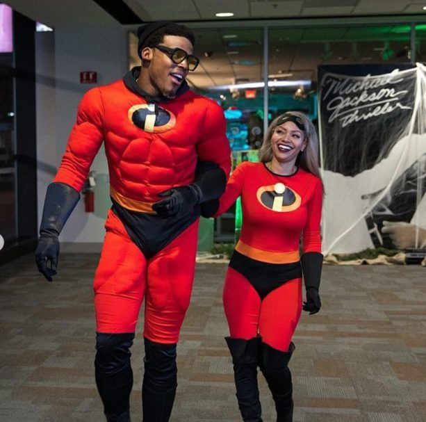 ... wearing these Incredible costumes. For Cam Newton everyday is like Halloween especially with his press conference attire. Check out Cam and Kia below.  sc 1 st  Terez Owens & Cam Newton and Baby Mamau0027s Halloween Costume were Incredible | Terez ...