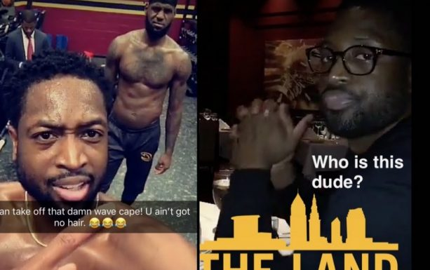 Dwyane Wade Roasts LeBron during Workout, then gets Roasted by his Wife