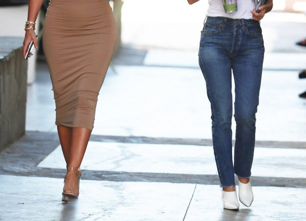 Larsa Pippen Puts Her Curves On Display In A Tight Dress For Smoothies