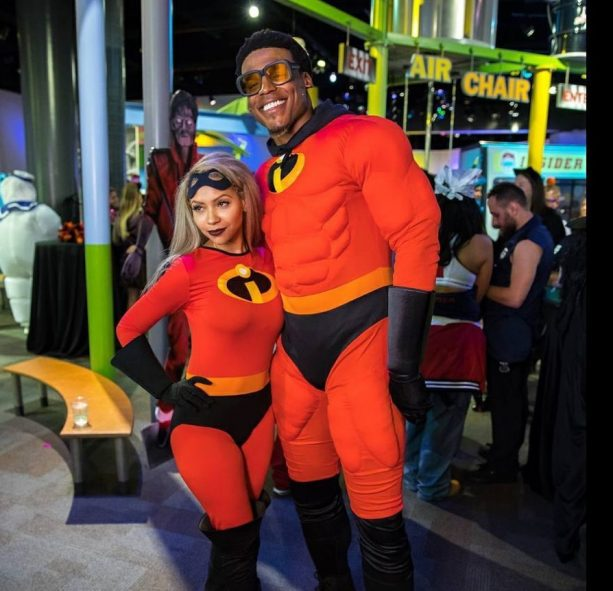 spotted out for halloween wearing these incredible costumes for cam newton everyday is like halloween especially with his press conference attire