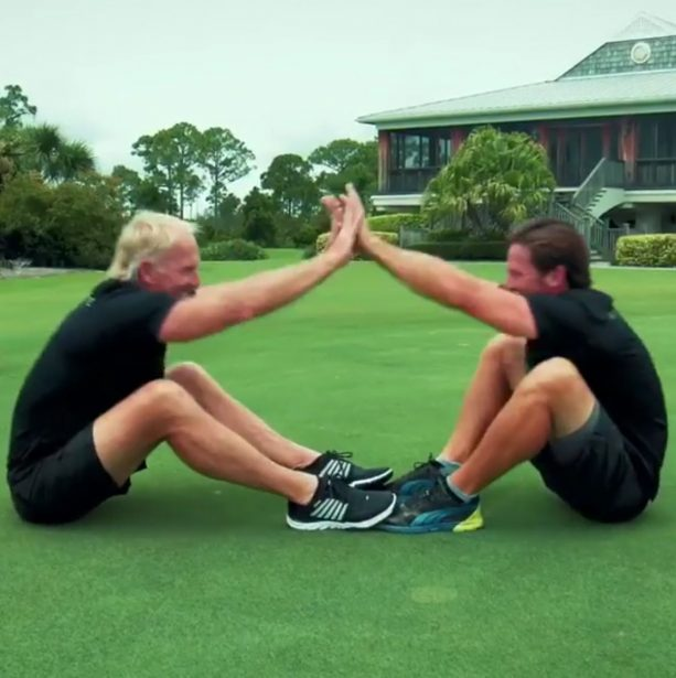 Greg Norman announces his return to competitive golf with Funny video