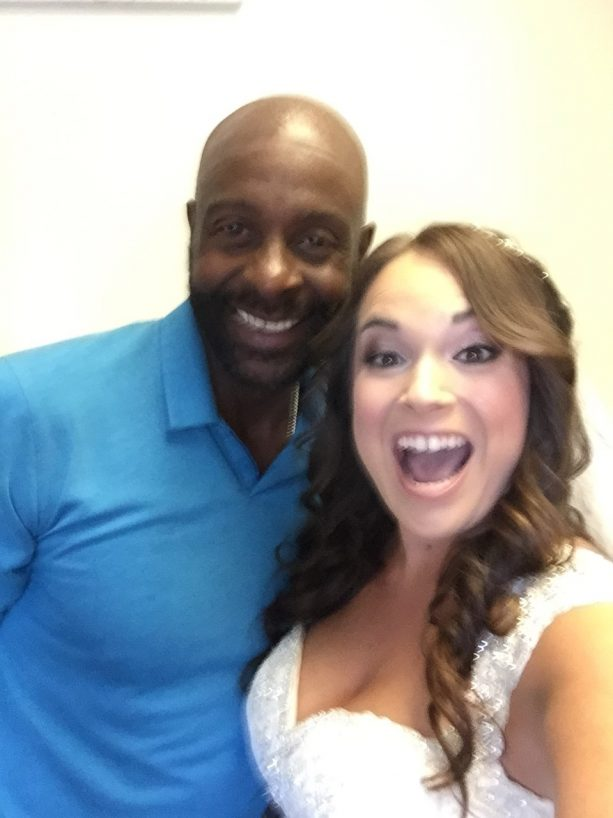Jerry Rice is a Real Life Wedding Crasher