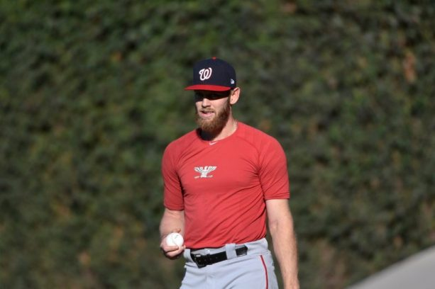Dusty Baker's Excuse for Stephen Strasburg Not Wanting to Pitch is Pretty Bad