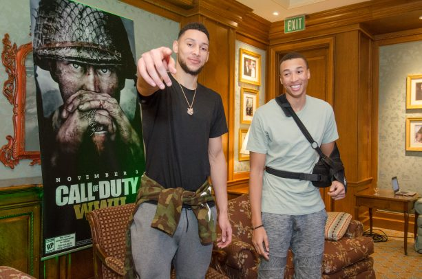 Ben Simmons is a Call of Duty Gamer