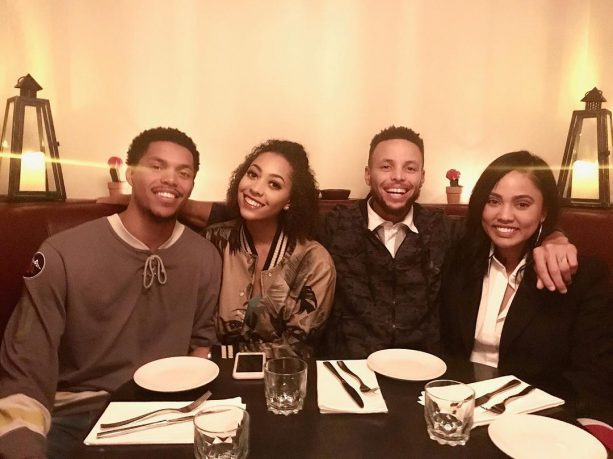 Steph Curry S Sister Gets Engaged To D Leaguer Terez Owens 1 Sports Gossip Blog In The World