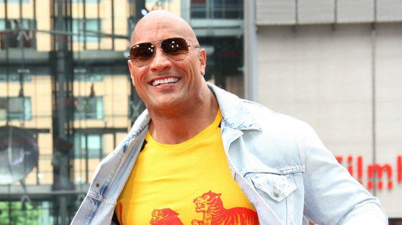 The Rock Thanks Crew that sets up his 40,000 pounds of Workout Equipment