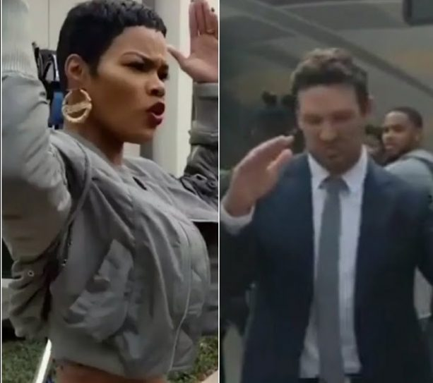 Tony Romo and Teyana Taylor in a New Spot Together
