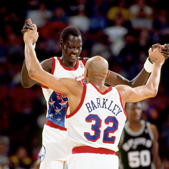 Manute Bol Was Playing in the NBA when He was 50