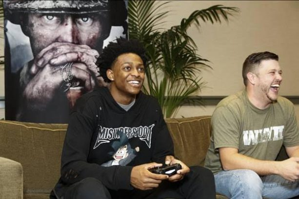 Call of Duty: WWII Livestream with De'Aaron Fox of the Sacramento Kings