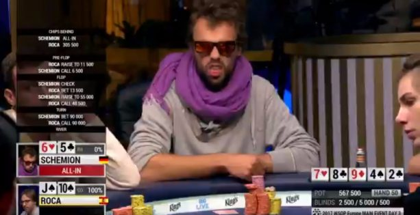 Watch This Dude Get His Soul Sucked out of him on the Flop